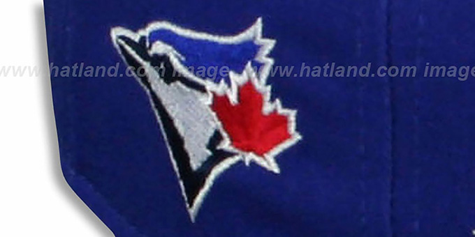 Blue Jays 'SAILTIP SNAPBACK' Royal-Grey Hat by New Era