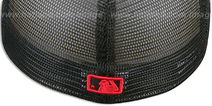 Braves CHEETAH 'ANIMAL-FUR MESH-BACK' Fitted Hat by New Era