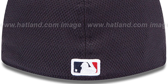 Braves 'MLB DIAMOND ERA' 59FIFTY Navy BP Hat by New Era
