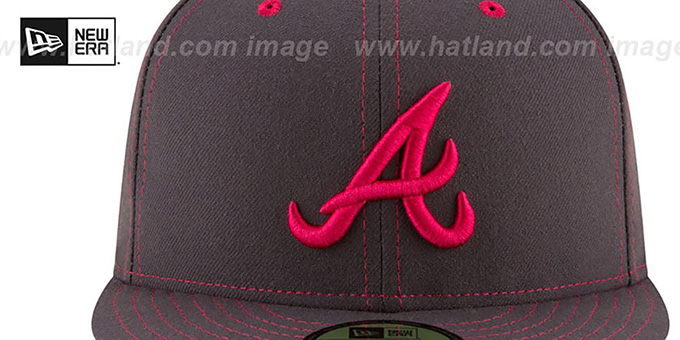 Braves 'MOTHERS DAY' Fitted Hat by New Era