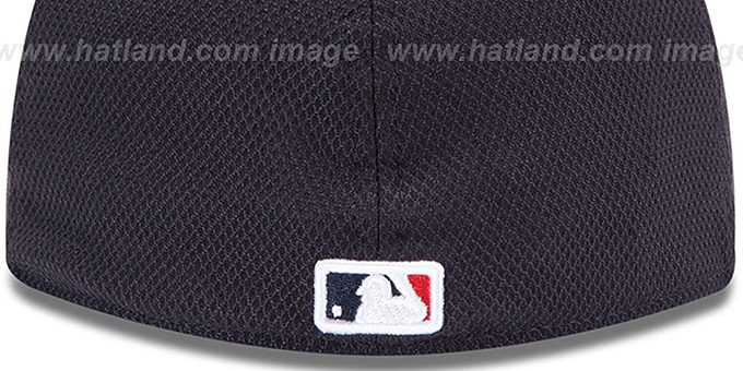 Braves 'WARRIOR DIAMOND ERA' 59FIFTY Navy BP Hat by New Era