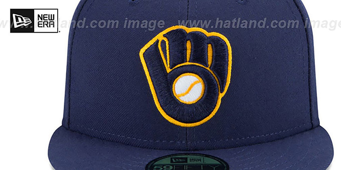 Brewers 'AC-ONFIELD ALTERNATE-2' Hat by New Era
