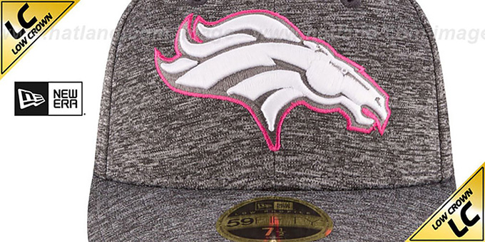 Broncos '2016 LOW-CROWN BCA' Grey Fitted Hat by New Era