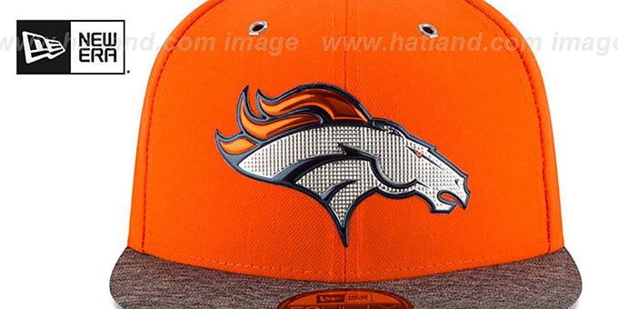 Denver Broncos 2016 NFL DRAFT Fitted Hat by New Era afcfc56fb