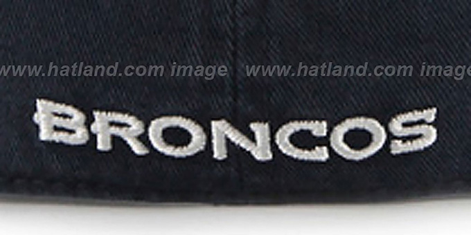 Broncos 'NFL FRANCHISE' Navy Hat by 47 Brand