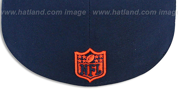 Broncos 'NFL-TIGHT' Navy-Orange Fitted Hat by New Era
