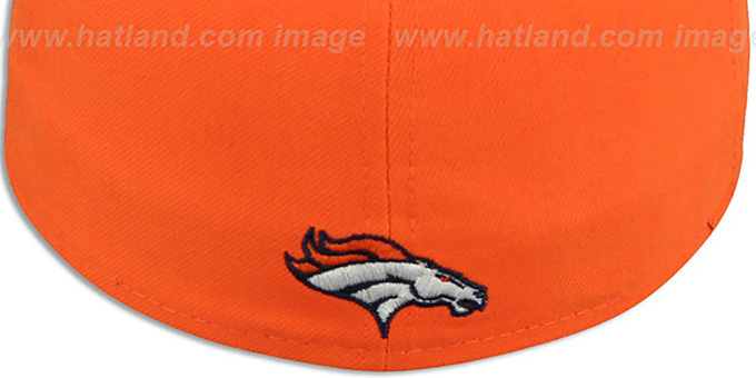 Broncos 'PROFILIN' Orange-Navy Fitted Hat by New Era