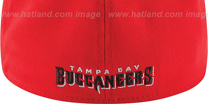 Buccaneers '2014 NFL DRAFT FLEX' Red Hat by New Era