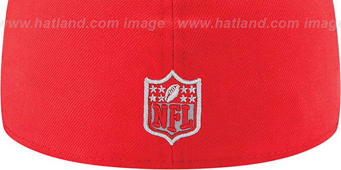 Buccaneers '2014 NFL DRAFT' Red Fitted Hat by New Era