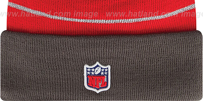 Buccaneers 'THANKSGIVING DAY' Knit Beanie Hat by New Era