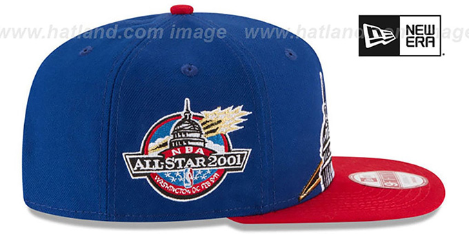 Bullets '2001 NBA ALL-STAR SNAPBACK' Hat by New Era