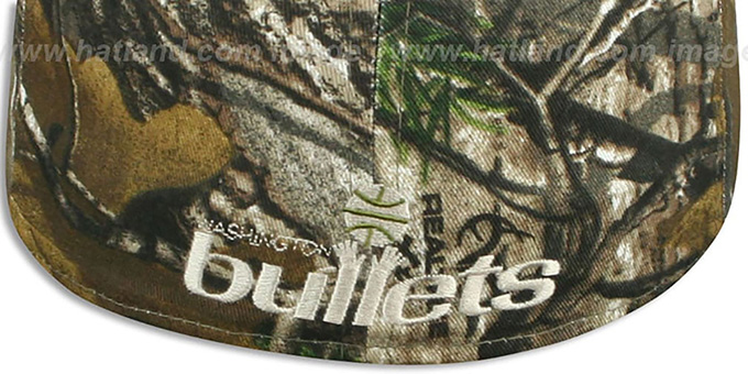 Bullets 'NBA TEAM-BASIC' Realtree Camo Fitted Hat by New Era