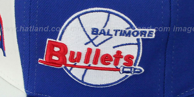 Bullets 'TWIRL SNAPBACK' Hat by Mitchell & Ness