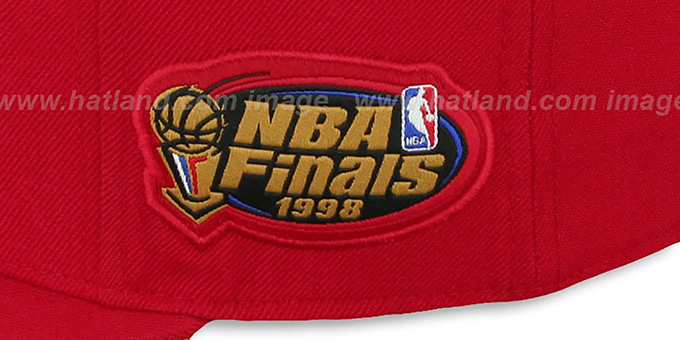 Bulls 1998 'COMMEMORATIVE CHAMPS' Hat by Mitchell & Ness