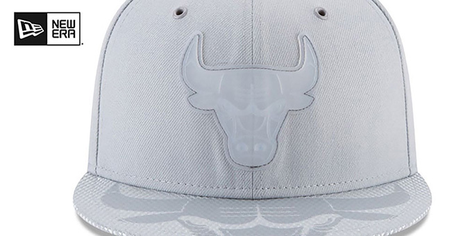 Bulls '2018 NBA ONCOURT ALL-STAR' Grey Fitted Hat by New Era