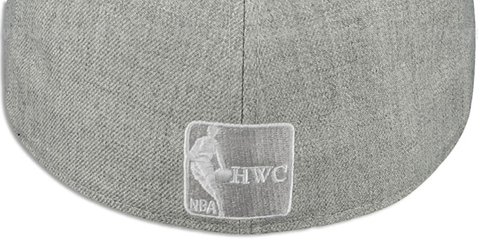 Bulls '2T-HEATHER' Grey-Black Fitted Hat by New Era