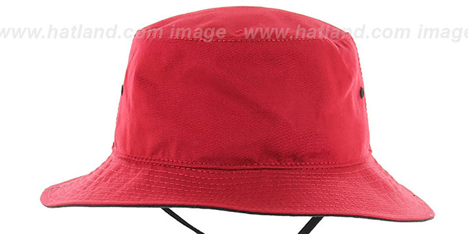 Bulls 'KIRBY BUCKET' Red Hat by Twins 47 Brand