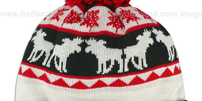 Bulls 'THE-MOOSER' Knit Beanie Hat by New Era
