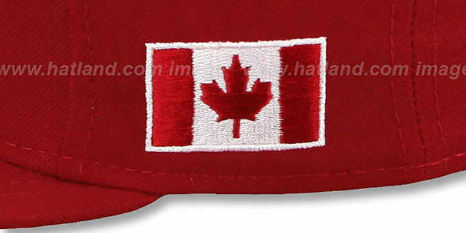 Canada 'PERFORMANCE WBC' Red Hat by New Era