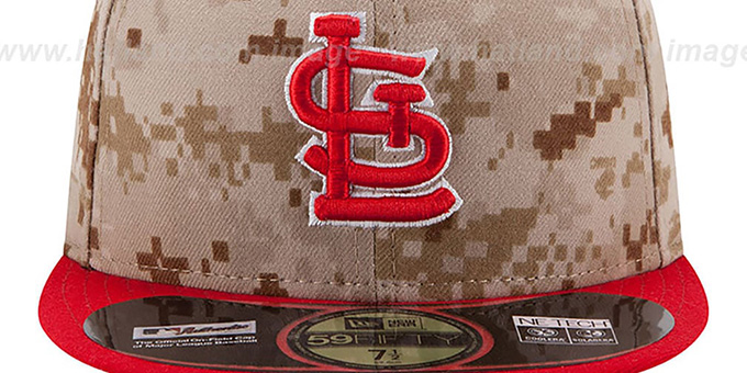 Cardinals '2014 STARS N STRIPES' Fitted Hat by New Era