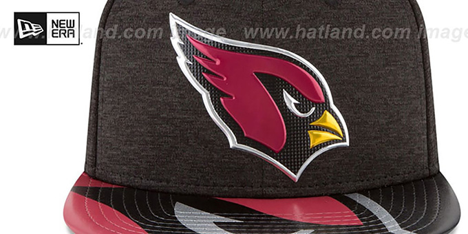 Cardinals '2017 NFL ONSTAGE SNAPBACK' Hat by New Era