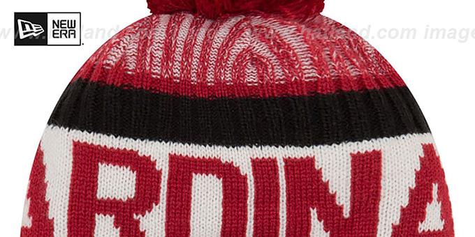 ... Cardinals  2017 STADIUM BEANIE  Red Knit Hat by New Era ... 9e7635589