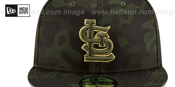 Cardinals 2019 ARMED FORCES 'STARS N STRIPES' Hat by New Era