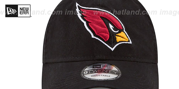 Cardinals 'CORE-CLASSIC STRAPBACK' Black Hat by New Era