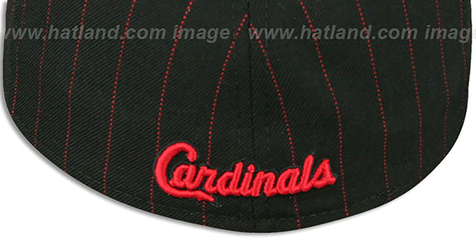 Cardinals 'FABULOUS' Black-Red Fitted Hat by New Era