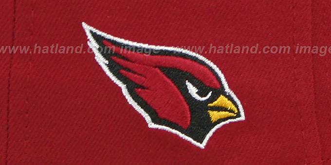 Cardinals 'NFL ONFIELD DRAFT' Burgundy Fitted Hat by New Era