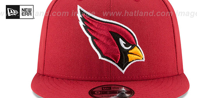 Cardinals 'TEAM-BASIC SNAPBACK' Burgundy Hat by New Era