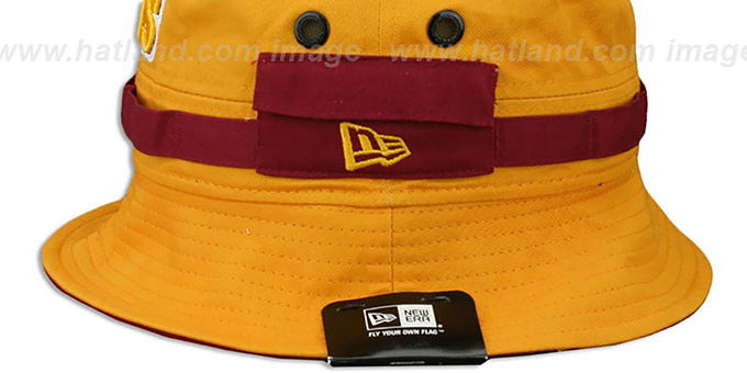 Cavaliers 'ADVENTURE' Gold Bucket Hat by New Era