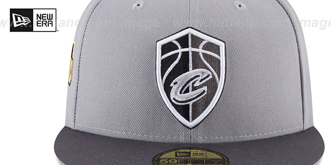 Cavaliers 'CITY-SERIES' Grey-Grey Fitted Hat by New Era