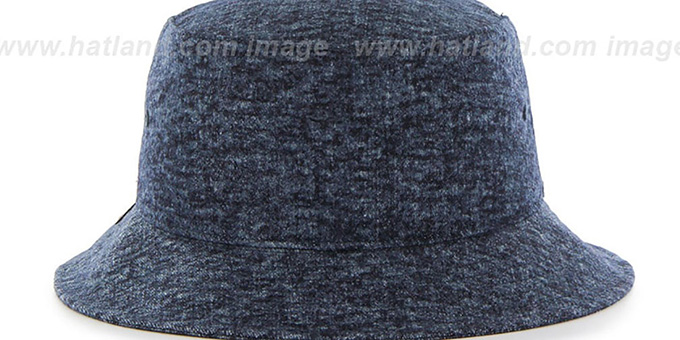 Cavaliers 'LEDGEBROOK BUCKET' Navy Hat by Twins 47 Brand