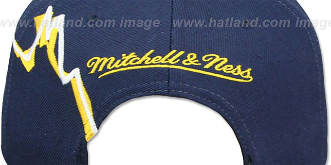 Cavaliers 'SWIFTER SNAPBACK' Navy Hat by Mitchell and Ness