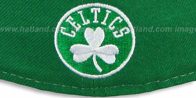 Celtics 'HERO-HCL' Green-Black Fitted Hat by New Era