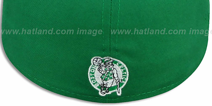Celtics 'PROFILIN' Green-Black Fitted Hat by New Era