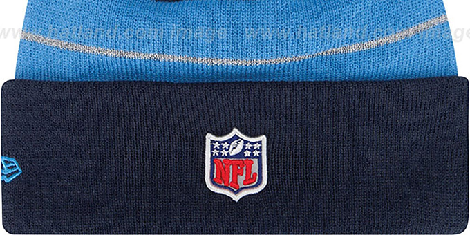 9a84304753f ... Chargers  THANKSGIVING DAY  Knit Beanie Hat by New Era