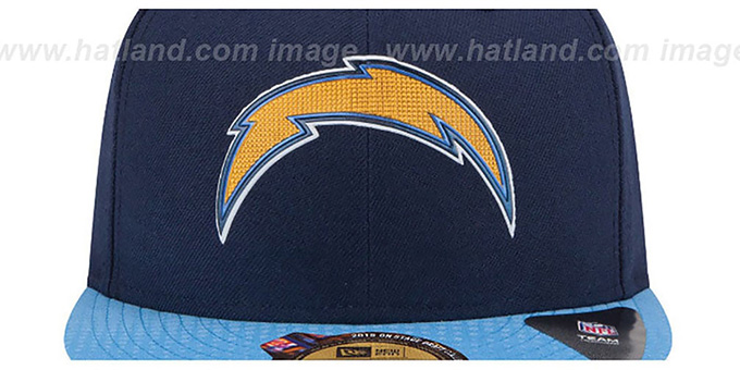 f5705c107a3 ... Chargers  2015 NFL DRAFT  Navy-Blue Fitted Hat by New Era ...