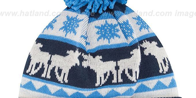 Chargers 'THE-MOOSER' Knit Beanie Hat by New Era