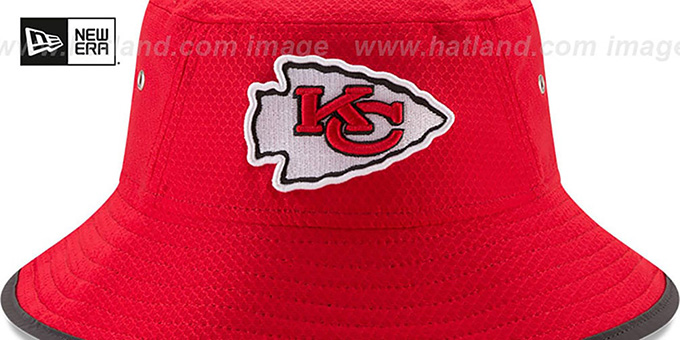 Chiefs '2017 NFL TRAINING BUCKET' Red Hat by New Era