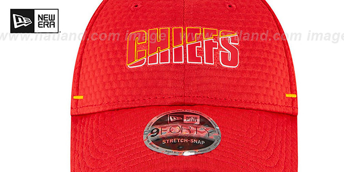 Chiefs 'COACHES TRAINING SNAPBACK' Hat by New Era