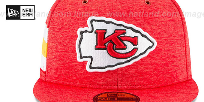 Chiefs 'HOME ONFIELD STADIUM' Red Fitted Hat by New Era