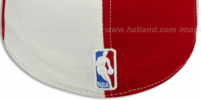 Clippers 'DOUBLE WHAMMY' Red-White Fitted Hat