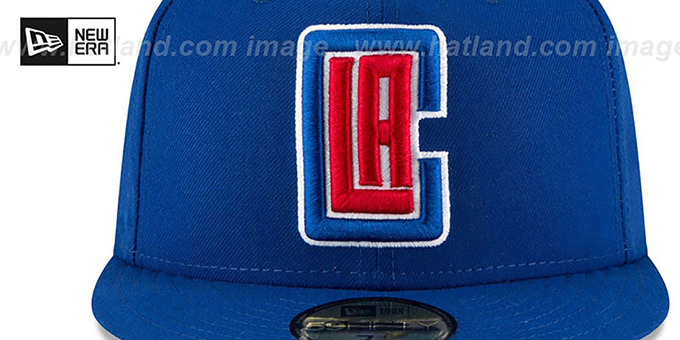 Clippers 'TEAM-SUPERB' Royal Fitted Hat by New Era