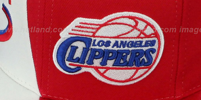 Clippers 'TWIRL SNAPBACK' Hat by Mitchell & Ness