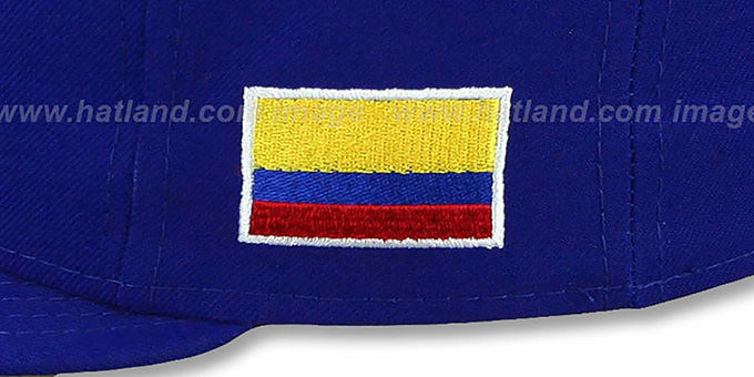 Colombia 'PERFORMANCE WBC' Royal Hat by New Era