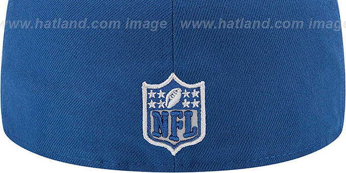 Colts '2014 NFL DRAFT' Royal Fitted Hat by New Era