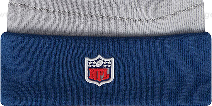 Colts 'THANKSGIVING DAY' Knit Beanie Hat by New Era