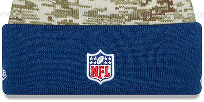 Colts '2015 SALUTE-TO-SERVICE' Knit Beanie Hat by New Era